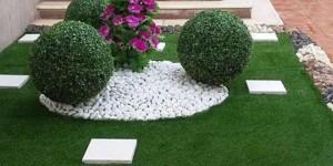 تركيب عشب صناعي العين