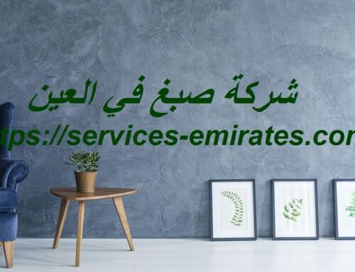 شركة صبغ في العين |0566719609| دهانات وأصباغ